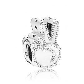 Pandora 797215 Charm Symbol des Friedens