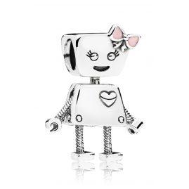 Pandora 797141EN160 Charm Roboter-Mädchen