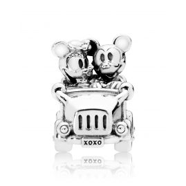 Pandora 797174 Charm Mickey and Minnie Vintage Car