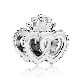 Pandora 797670 Silver United Regal Heart Charm