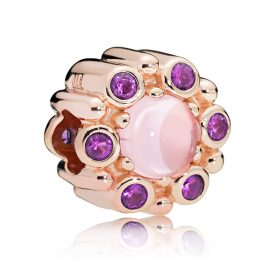 Pandora 787658NPM Charm Heraldic Radiance Rosé