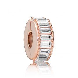 Pandora 787559CZ Rose Clip-Element Ice Formation
