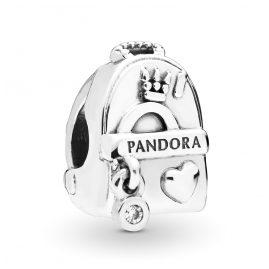Pandora 797859CZ Silber Charm Adventure Bag
