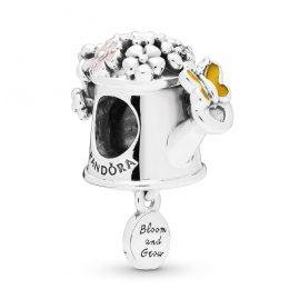 Pandora 797873ENMX Silber Charm Blooming Watering Can