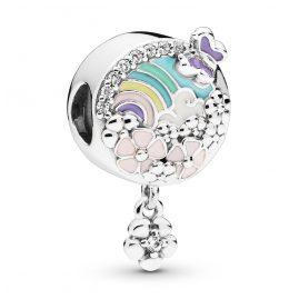 Pandora 797999ENMX Silver Charm Flower Colour Story