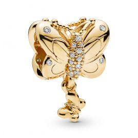 Pandora 767899CZ Shine Charm Butterfly