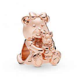 Pandora 788007 Rose Charm Dora Bear