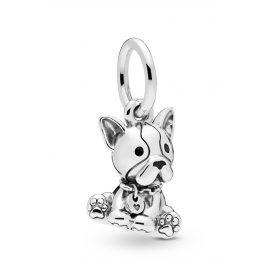 Pandora 798008EN16 Charm Pendant Bulldog Puppy