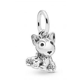 Pandora 798010EN16 Charm-Anhänger Bull Terrier Puppy