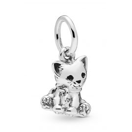 Pandora 798011EN16 Charm-Anhänger Sweet Cat