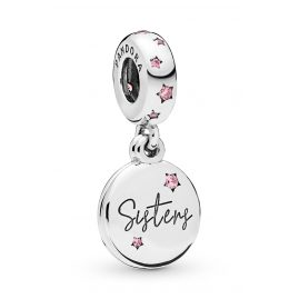 Pandora 798012FPC Charm-Anhänger Forever Sisters