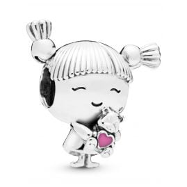 Pandora 798016EN160 Girl with Pigtails Charm