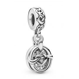 Pandora 798095CZ Charm-Anhänger Knotted Hearts