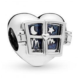 Pandora 798006EN63 Window Heart Charm
