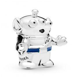 Pandora 798045EN82 Charm Toy Story Alien Silber