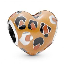 Pandora 798065ENMX Charm Spotted Heart