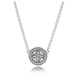 Pandora 590523CZ Ladies Necklace Vintage Magic