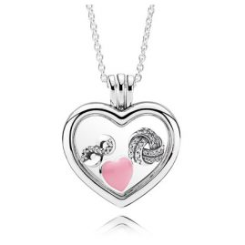 Pandora 08317-60 Heart Locket Set Infinite Love