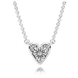 Pandora 396370CZ Damen-Halskette Herz