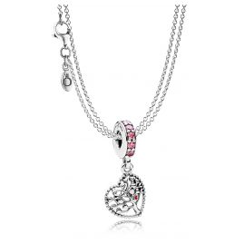 Pandora 08392 Necklace Lovetree Charm Pendant