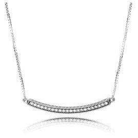Pandora 397420CZ Damen-Halskette Stab