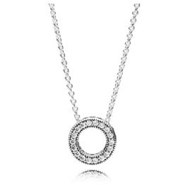 Pandora 397436CZ Ladies' Necklace Hearts