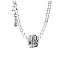 Pandora 08589 Necklace with Pendant Hearts