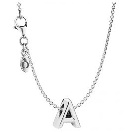 Pandora 08592 Necklace with Letter A