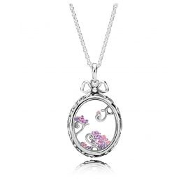 Pandora 397716ACZMX-70 Damen-Halskette Locket of Dazzle