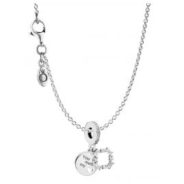 Pandora 08693 Necklace with Charm Ice Carving