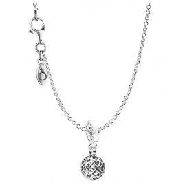 Pandora 08859 Halskette mit Anhänger Harmonious Hearts