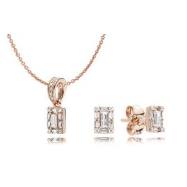 Pandora B801130 Rose Geschenkset für Damen Luminous Ice