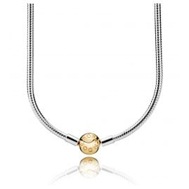 Pandora 368004 Necklace Moments Silver & Shine
