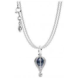 Pandora 75251 Anhänger Heißluftballon mit 2-reihiger Halskette Silber 925