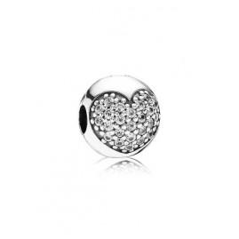 Pandora 791053CZ Silber Clip Stopper Herz