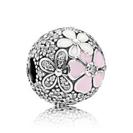 Pandora 792084CZ Clip Element Picturesque Blossoms