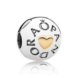Pandora 796219 Clip-Element Logo Herz