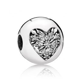 Pandora 796388CZ Clip Element Heart of Winter