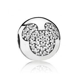 Pandora 791449CZ Clip-Element Micky Pavé