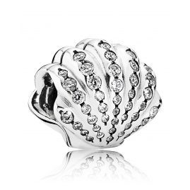 Pandora 791574CZ Clip-Element Ariel's Shell