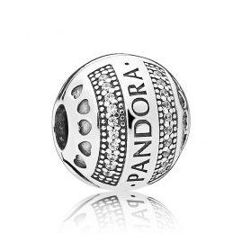 Pandora 797433CZ Clip-Element Logo Herzen