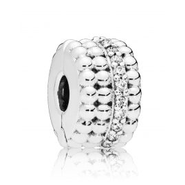 Pandora 797520CZ Clip Element Beaded Brilliance