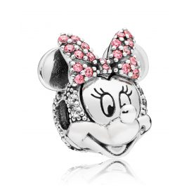 Pandora 797496CZS Clip Element Shimmering Minnie Portrait