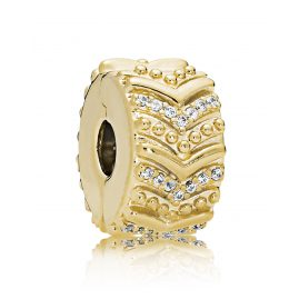 Pandora 767798CZ Shine Clip-Element Stylish Wish