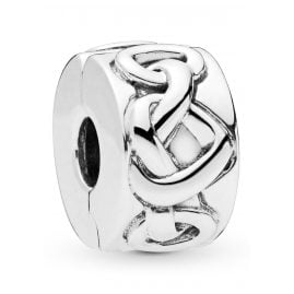 Pandora 798035 Clip-Element Knotted Hearts