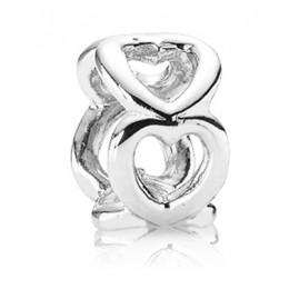 Pandora 790454 Zwischenelement Silber Offene Herzen