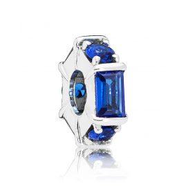 Pandora 797529NSBL Zwischenelement Ice Sculpture Blau