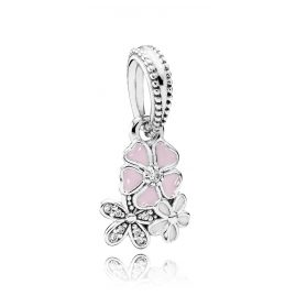 Pandora 791824ENMX Charms-Anhänger Malerische Blüten