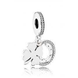 Pandora 792089CZ Charms Pendant Good Luck