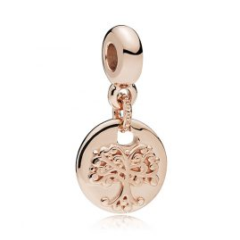 Pandora 787646 Essence Charm Pendant Family Roots Rose